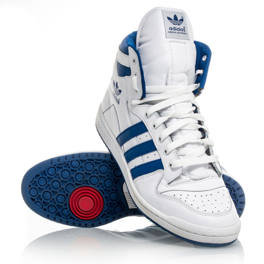 adidas originals decade hi mens basketball shoes white. Black Bedroom Furniture Sets. Home Design Ideas