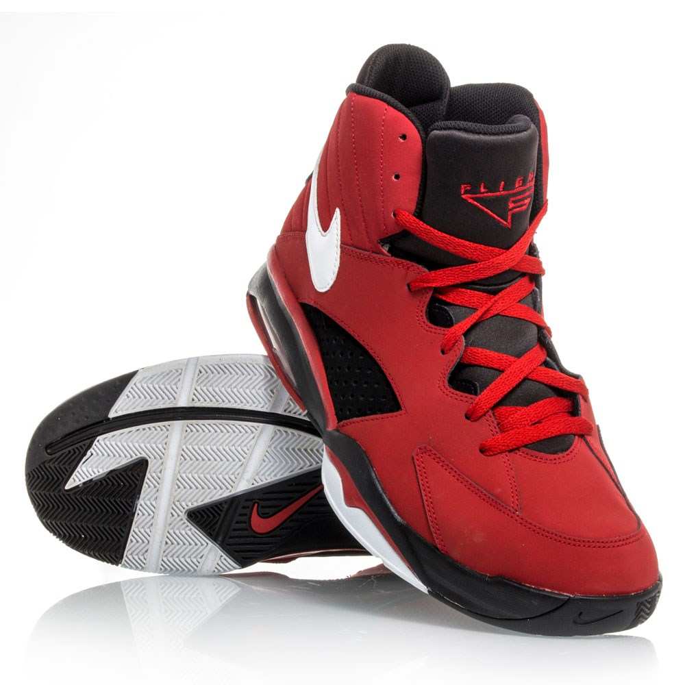 competitive price aa435 74d86 Nike Air Maestro Flight - Mens Basketball Shoes - Red/Black/White |  Sportitude