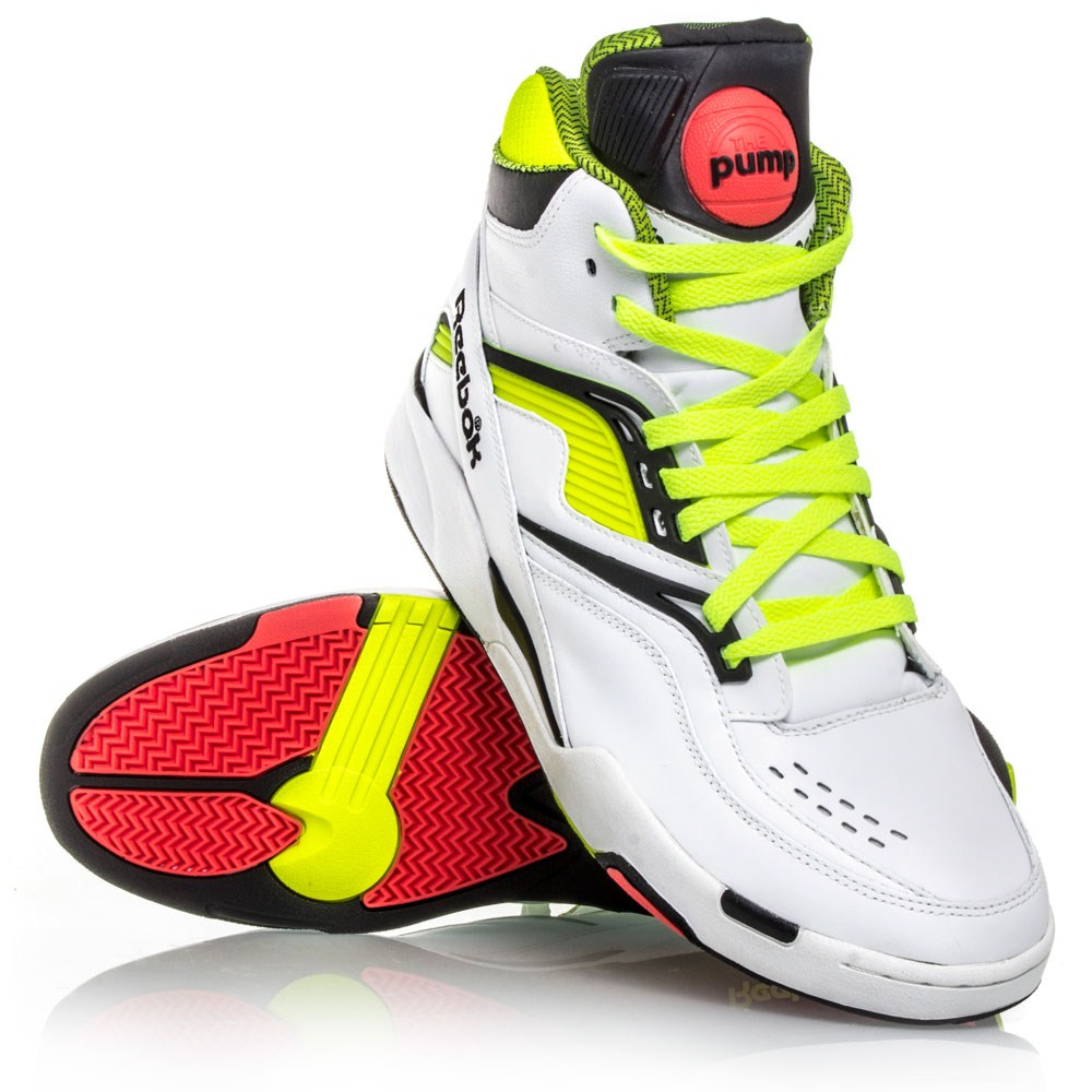 pump basketball shoes