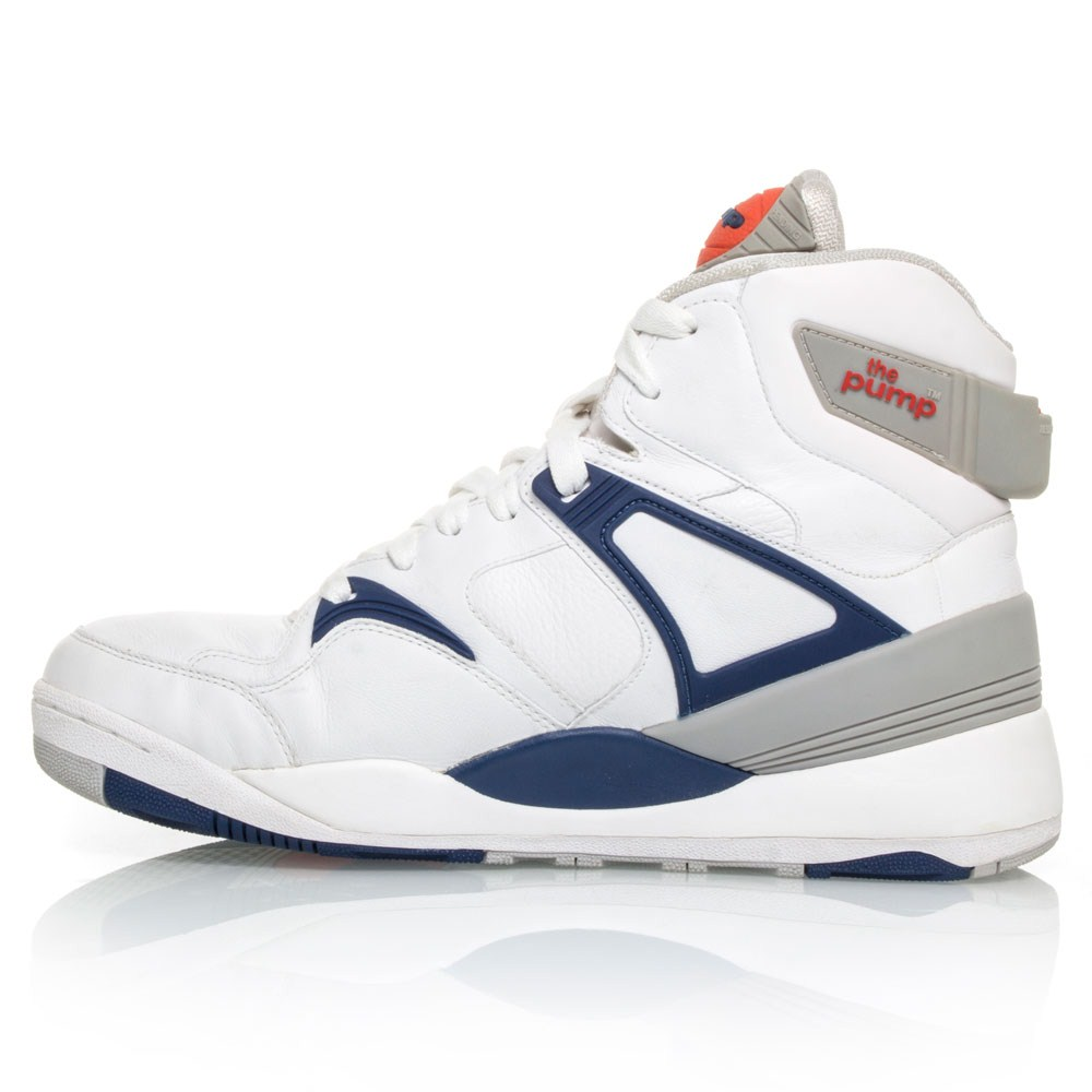 reebok the pump bringback mens basketball shoes white. Black Bedroom Furniture Sets. Home Design Ideas
