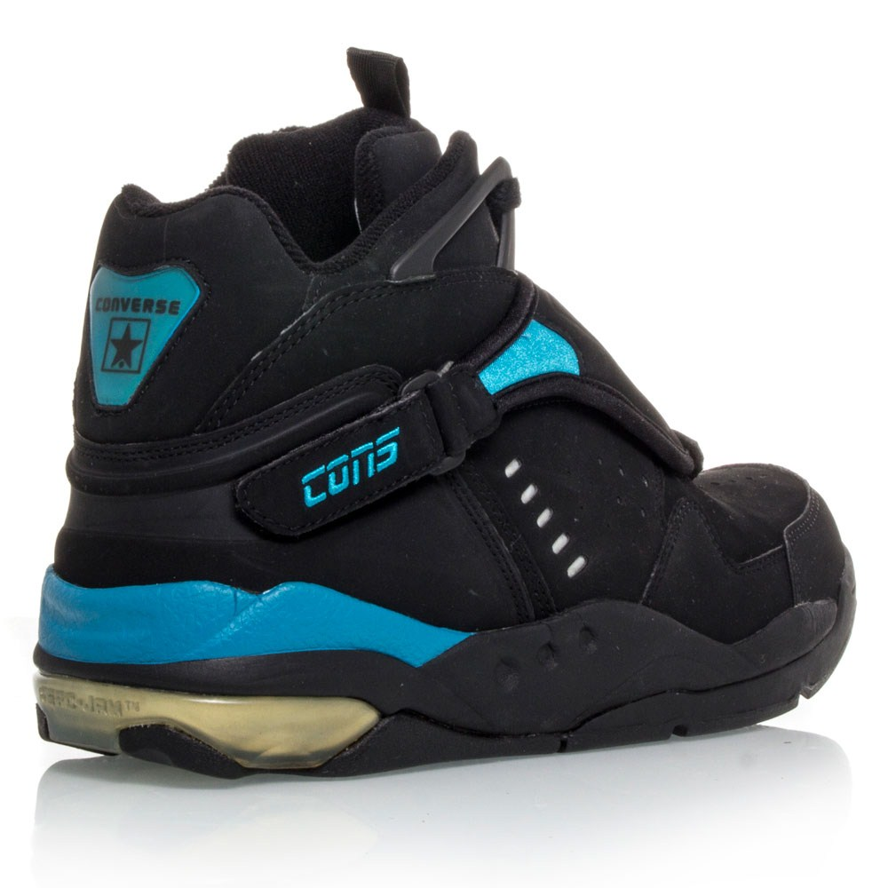 3325843a2579b7 Converse Aerojam Larry Johnson - Mens Basketball Shoes - Black ...