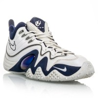 ddd549867ad2 ... Nike Air Zoom Flight JK Jason Kidd - Mens Basketball Shoes - White Blue