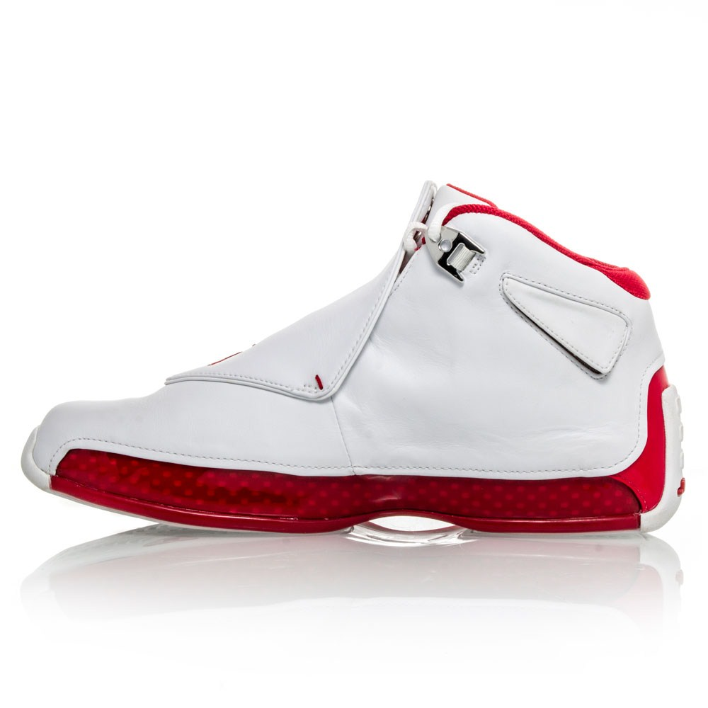 air 18 mens basketball shoes white