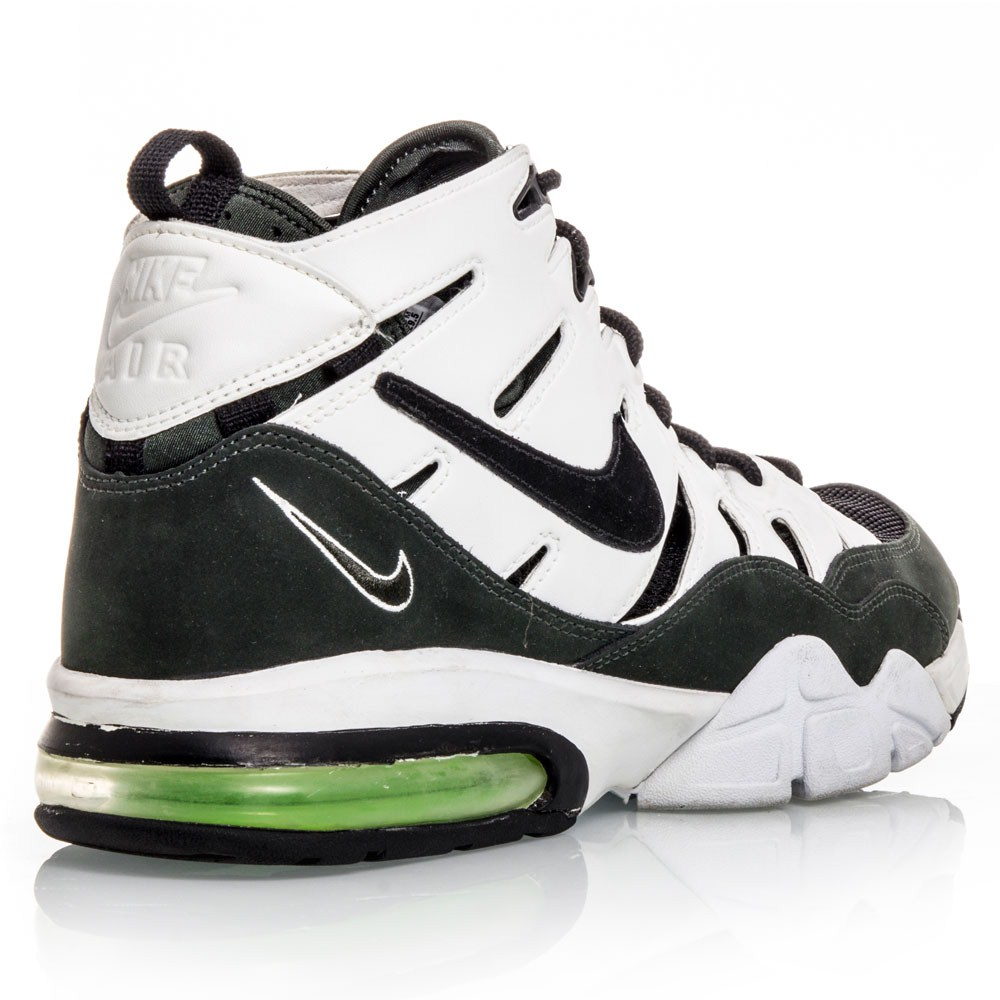 nike air trainer max 2 94 mens basketball shoes black white green online sportitude. Black Bedroom Furniture Sets. Home Design Ideas