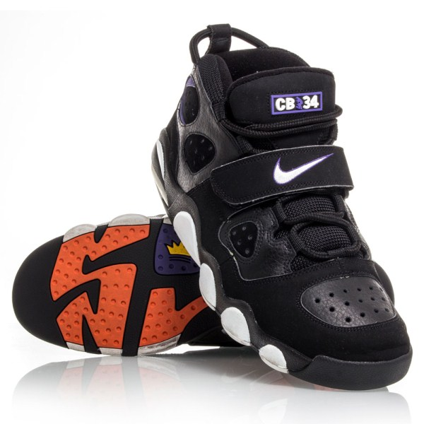 meet 9b2aa 8f954 Nike Air CB34 Charles Barkley - Mens Basketball Shoes - Black White Purple